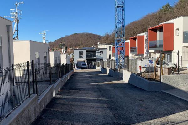 Retissima, nuova recinzione per cantiere a Bizzarone
