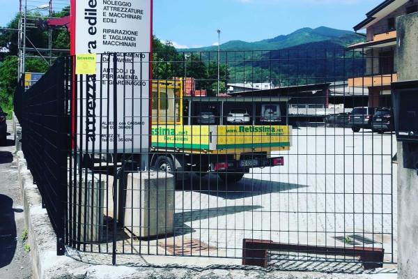 Retissima, nuova recinzione industriale