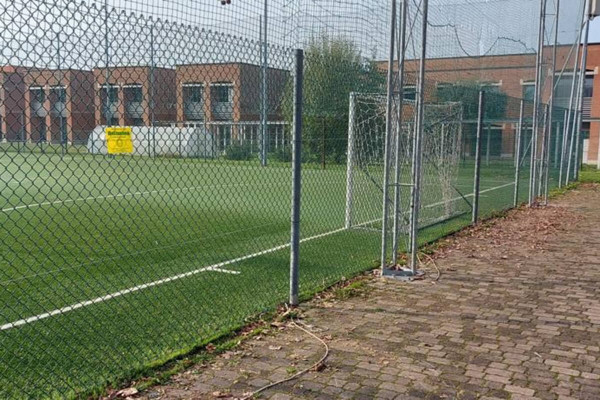 Retissima, recinzione campo sportivo di Sulbiate