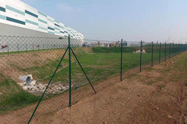 Retissima, recinzione industriale a Castrezzato